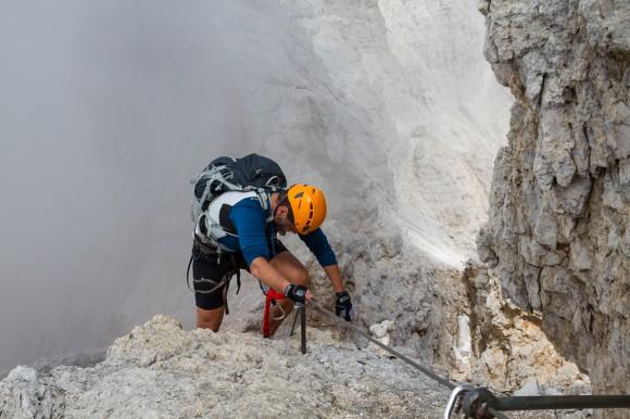 Via ferrata Marino Bianchi - Mt Cristallo